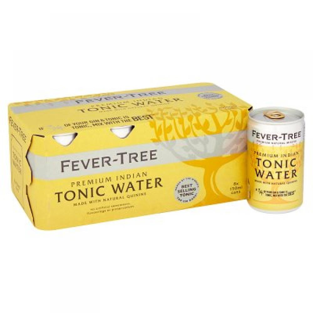 Fever Tree Indian Tonic Water 8x150ml