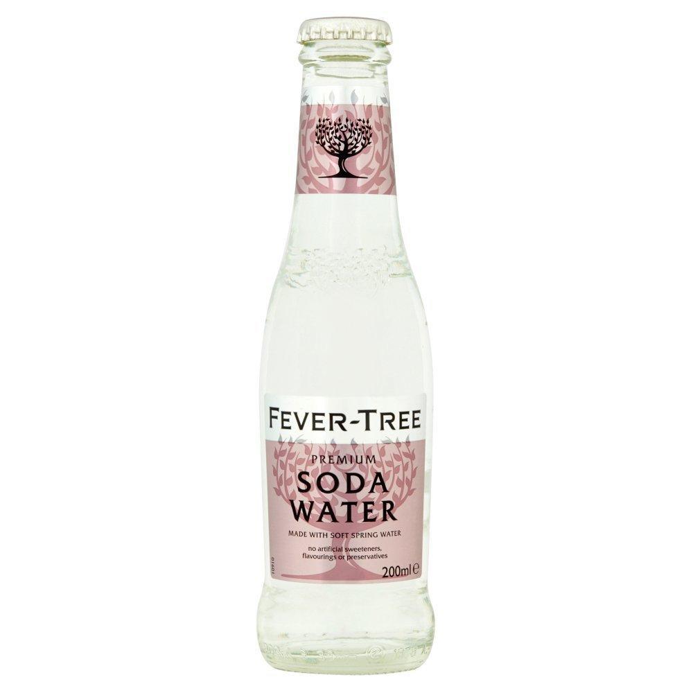 Soda In Christmas Tree Water: Fever Tree Premium Soda Water 200ml