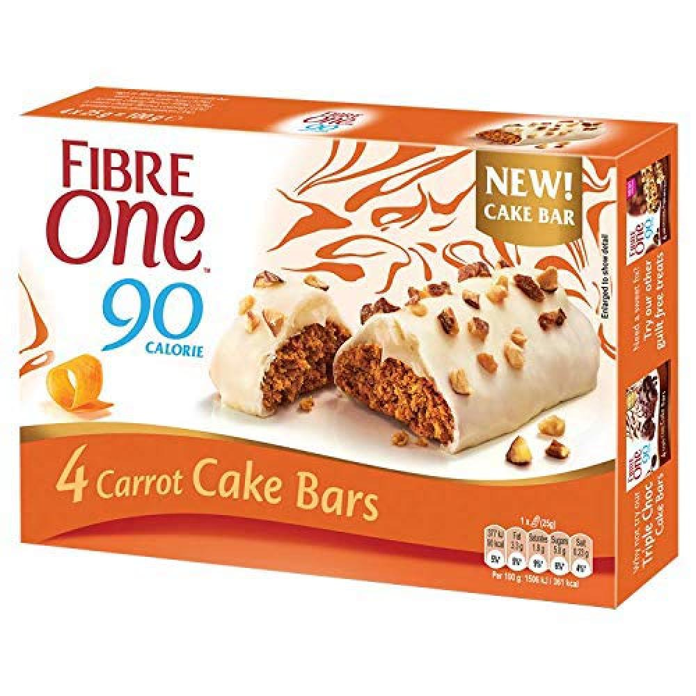 Fibre One 4 Carrot Cake Bars 100g
