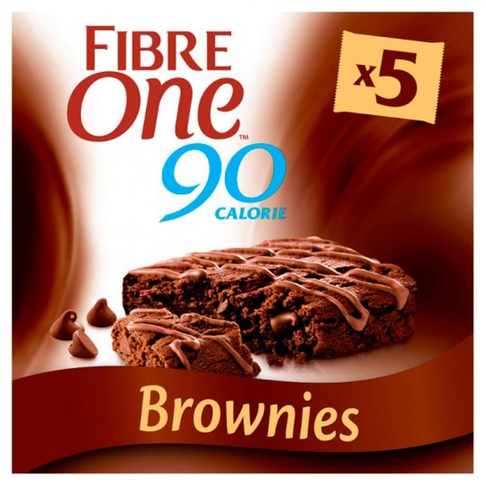 Fibre One Chocolate Fudge Brownie 5x24g