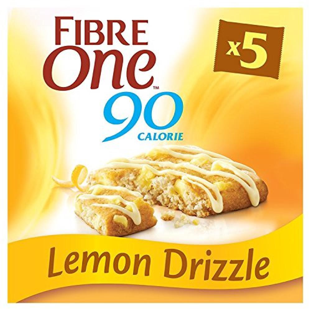 Fibre One Lemon Drizzle Squares 5x24g