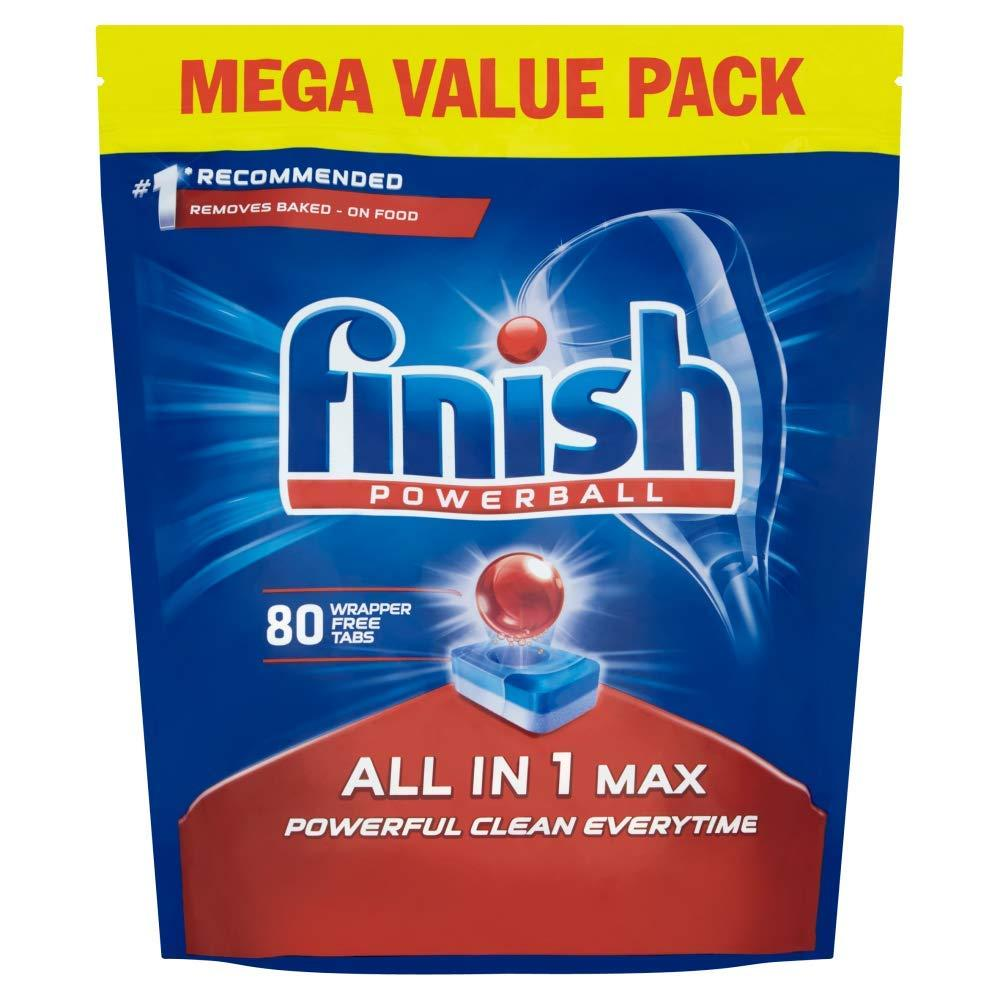 Finish All in One Max Original Dishwasher Tablets 80x