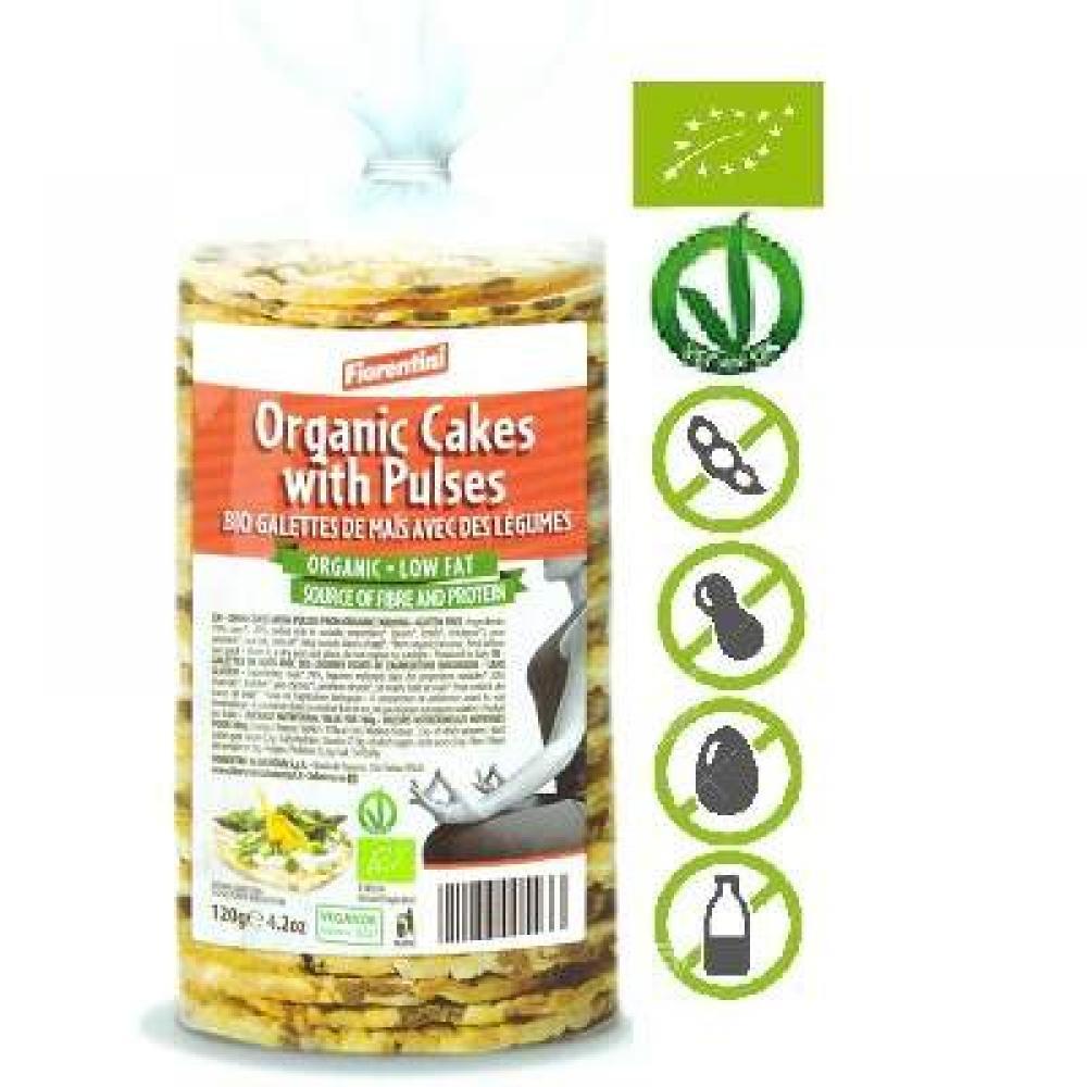 Fiorentini Bio Organix Cakes with Pulses 120g