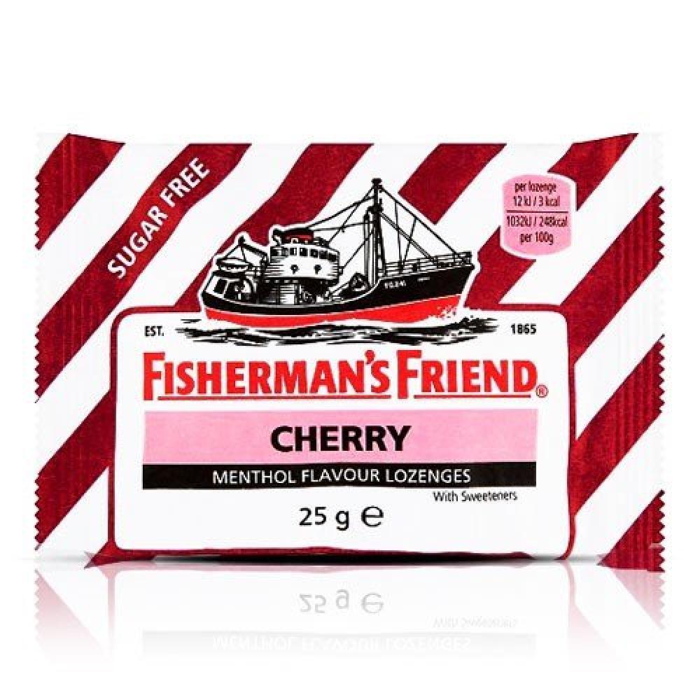 Fishermans Friend Cherry Menthol Flavour Lozenges 25g