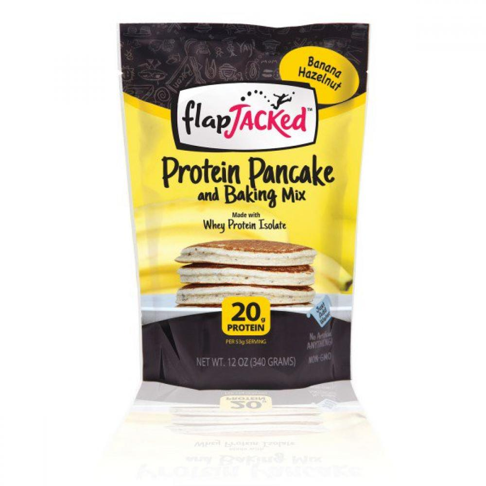 FlapJacked Banana Hazelnut Pancake Mix 680g