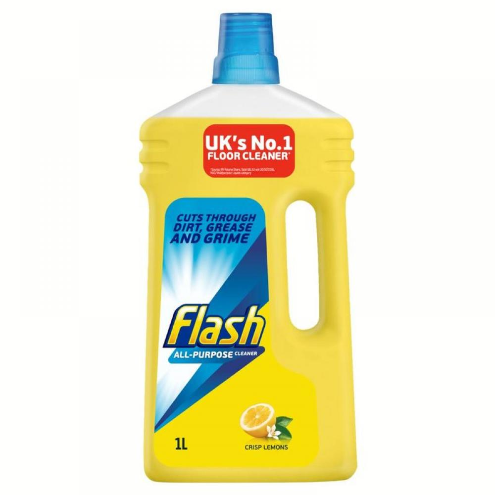 Flash All Purpose Cleaner Lemon 1L