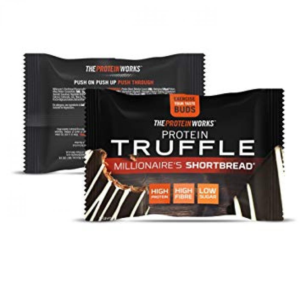 The Protein Works Protein Truffle Millionaires Shortbread 40g