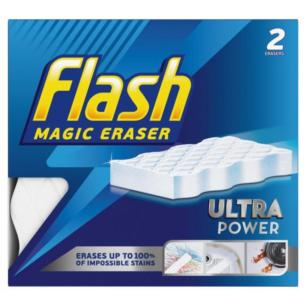 Flash Magic Eraser Ultra Power x2