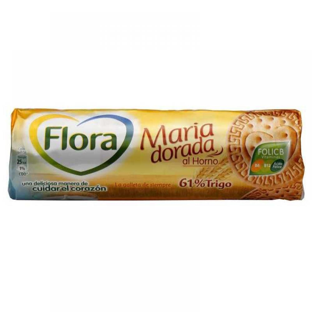 Flora Golden Brown Baked Biscuits 200g