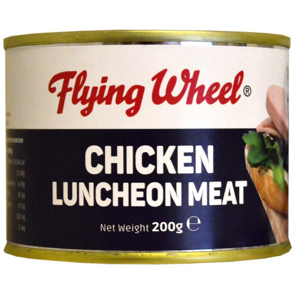 Flying Wheel Chicken Luncheon Meat 200g