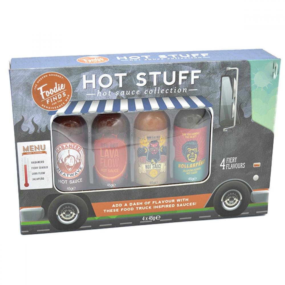 SALE  Foodie Finds Hot Sauce Collection 4 x 45g