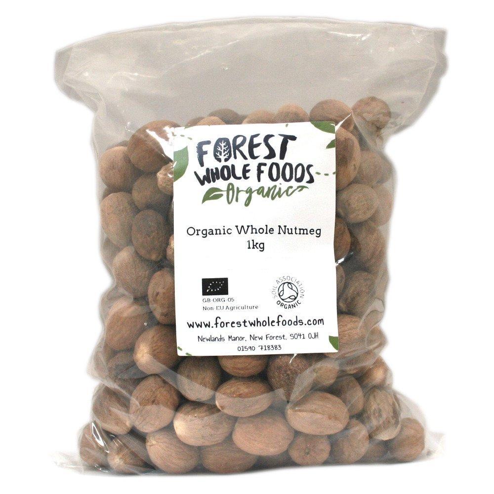 Forest Whole Foods Organic Whole Nutmeg 1kg