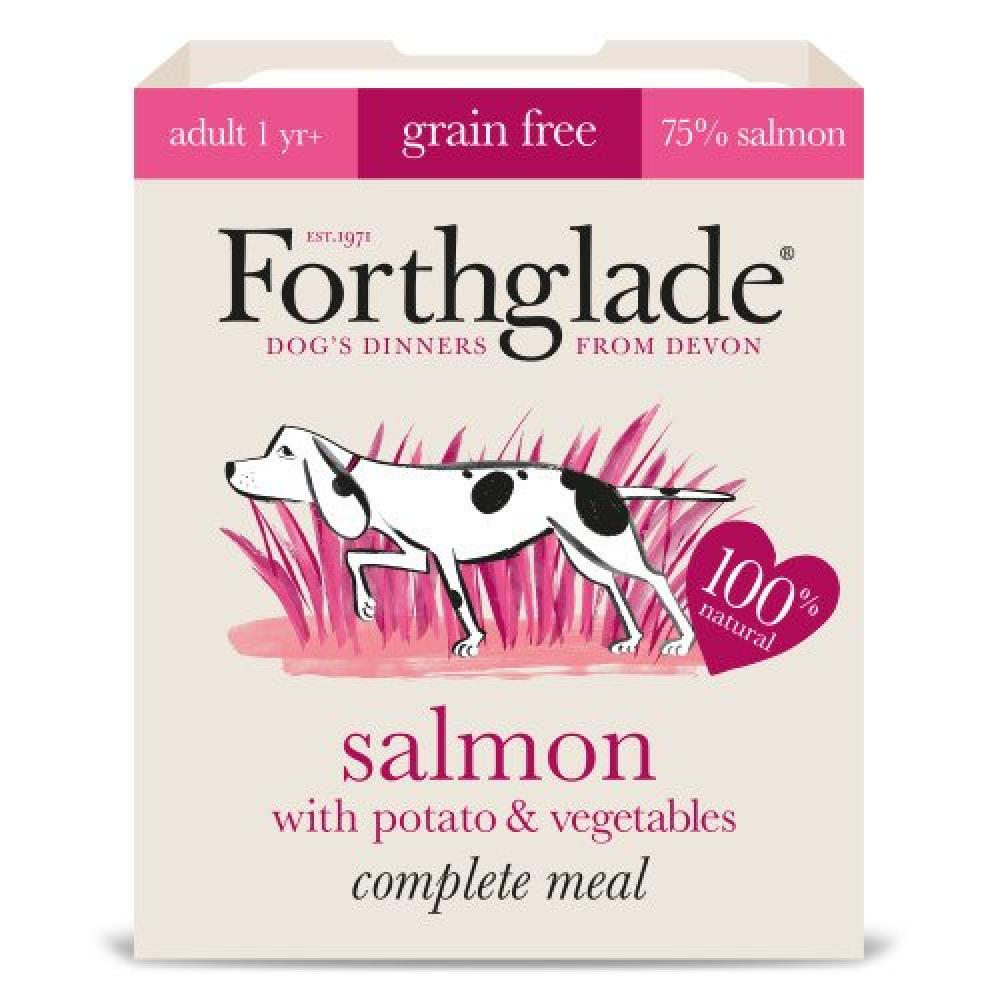 Forthglade Complete Meal Adult Salmon with Potato and Veg 395 g