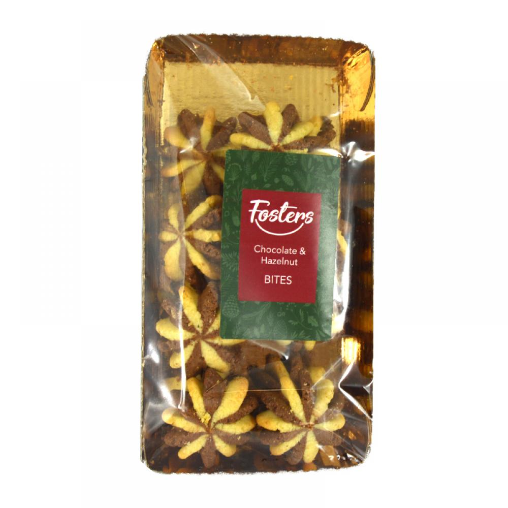 Fosters Chocolate and Hazelnut Bites 200g