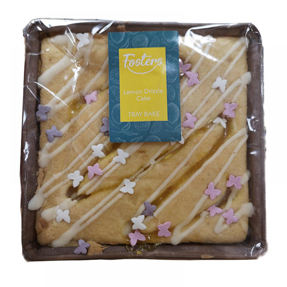 SALE  Fosters Lemon Drizzle Cake Tray Bake