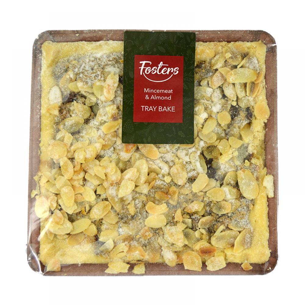 Fosters Mincemeat and Almond Traybake