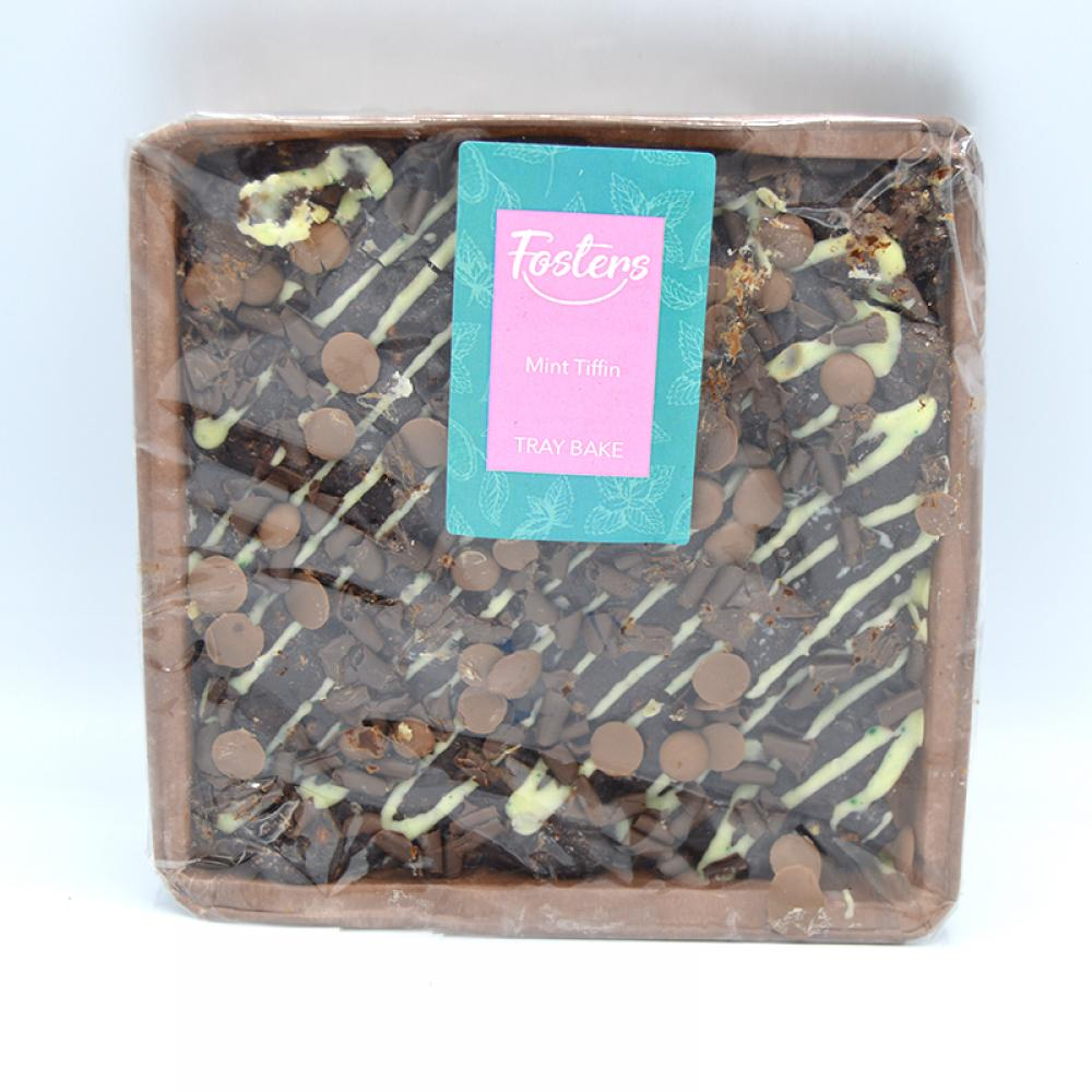 Fosters Mint Tiffin Tray Bake