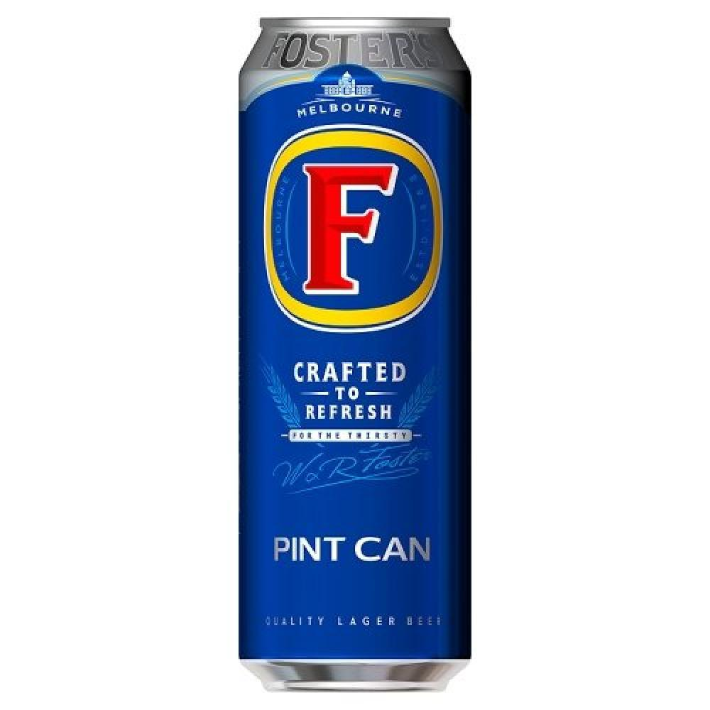 Fosters Pint Can 568ml
