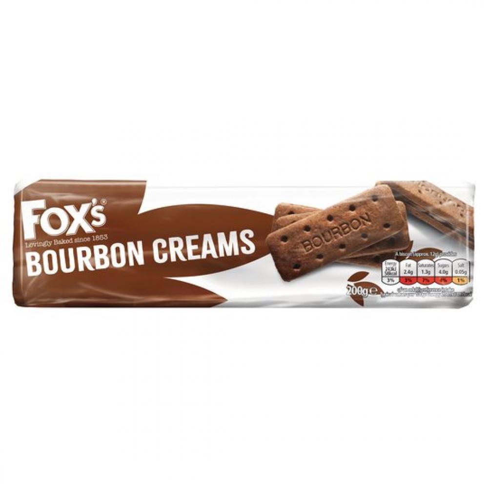 Foxs Bourbon Creams 200g