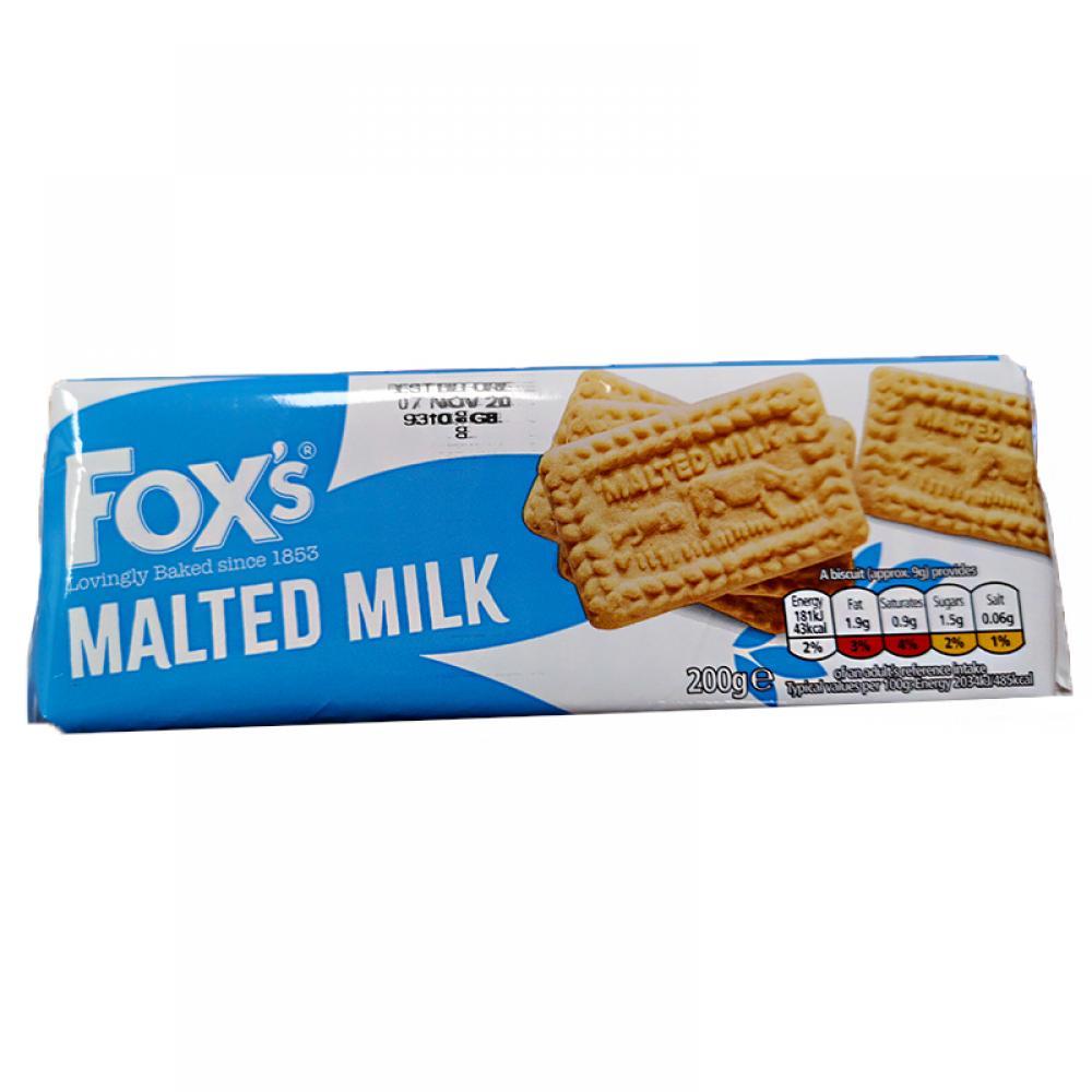 Foxs Malted Milk Biscuits 200g