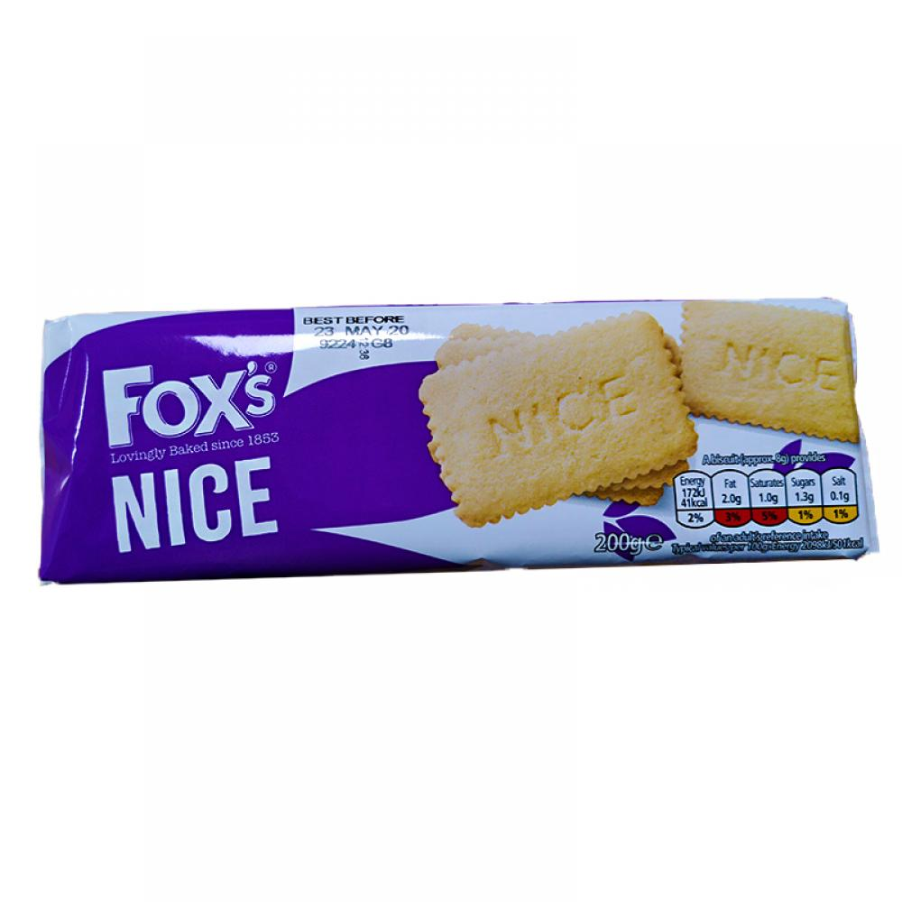Foxs Nice Biscuits 200g