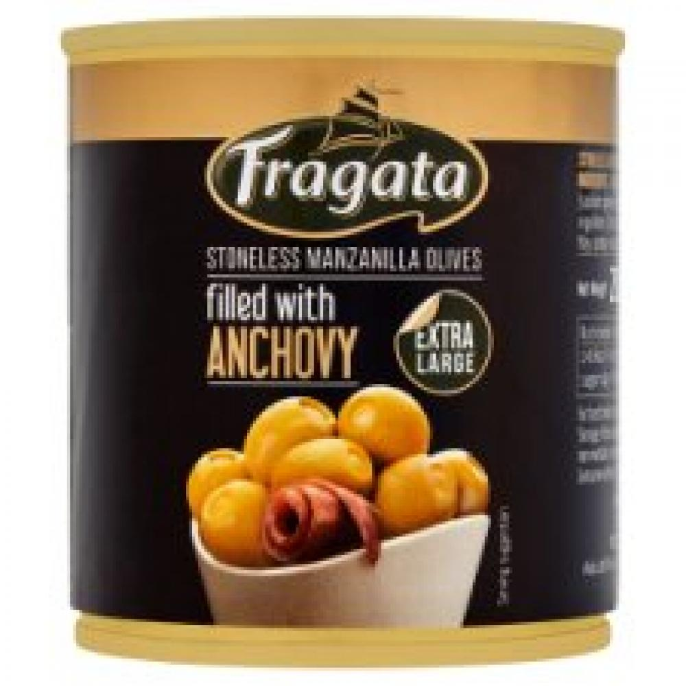 Fragata Anchovy Stuffed Spanish Olives 200g
