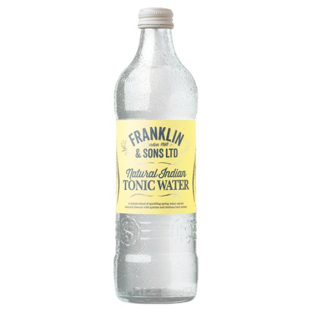 Franklin and Sons Natural Indian Tonic Water 500ml