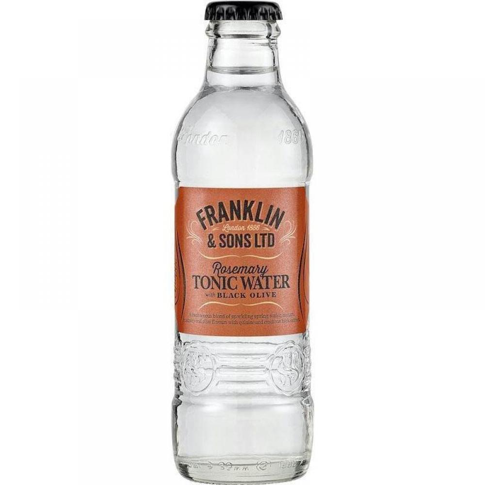 Franklin and Sons Rosemary Tonic Water With Black Olive 200ml