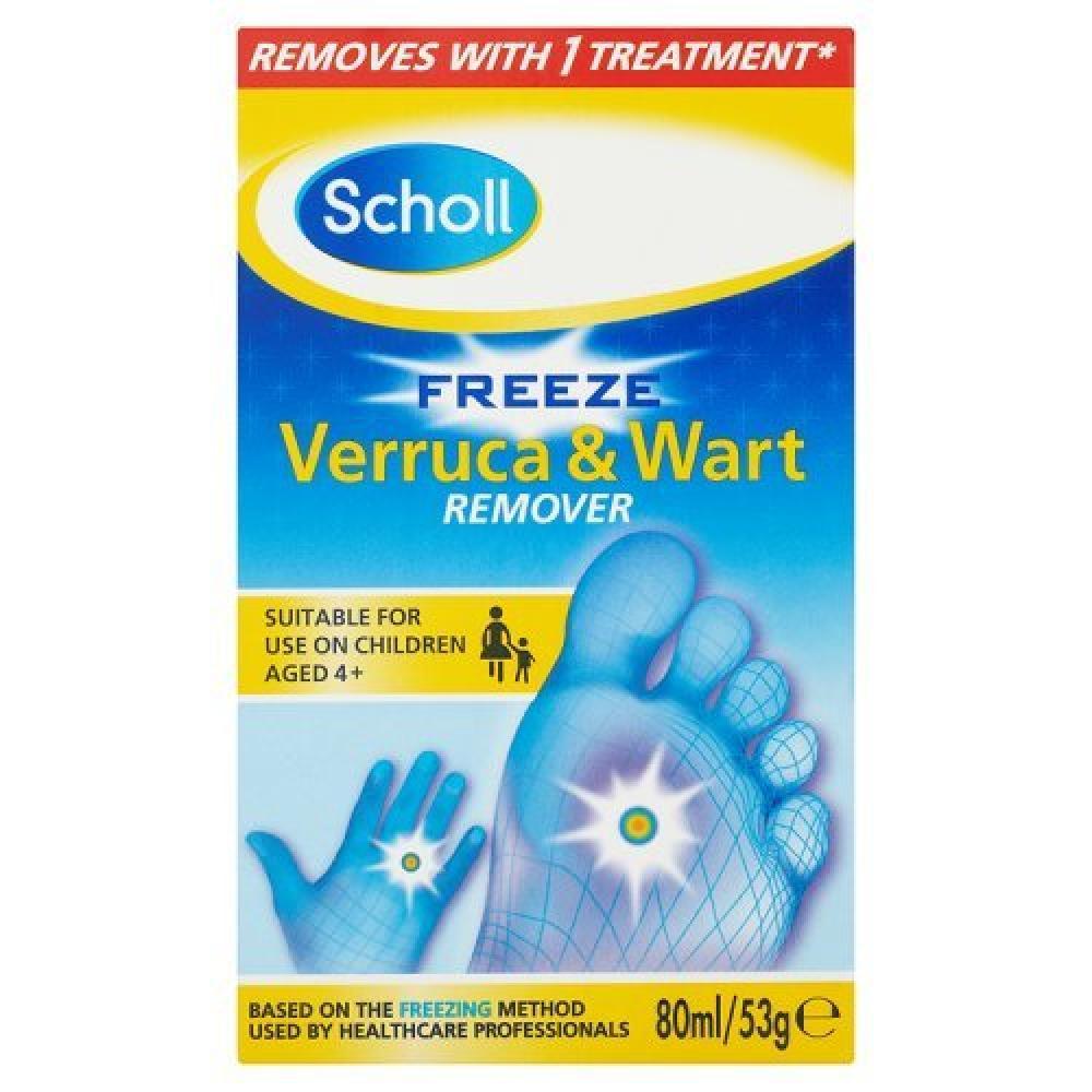 Scholl Freeze Verruca and Wart Remover 80ml