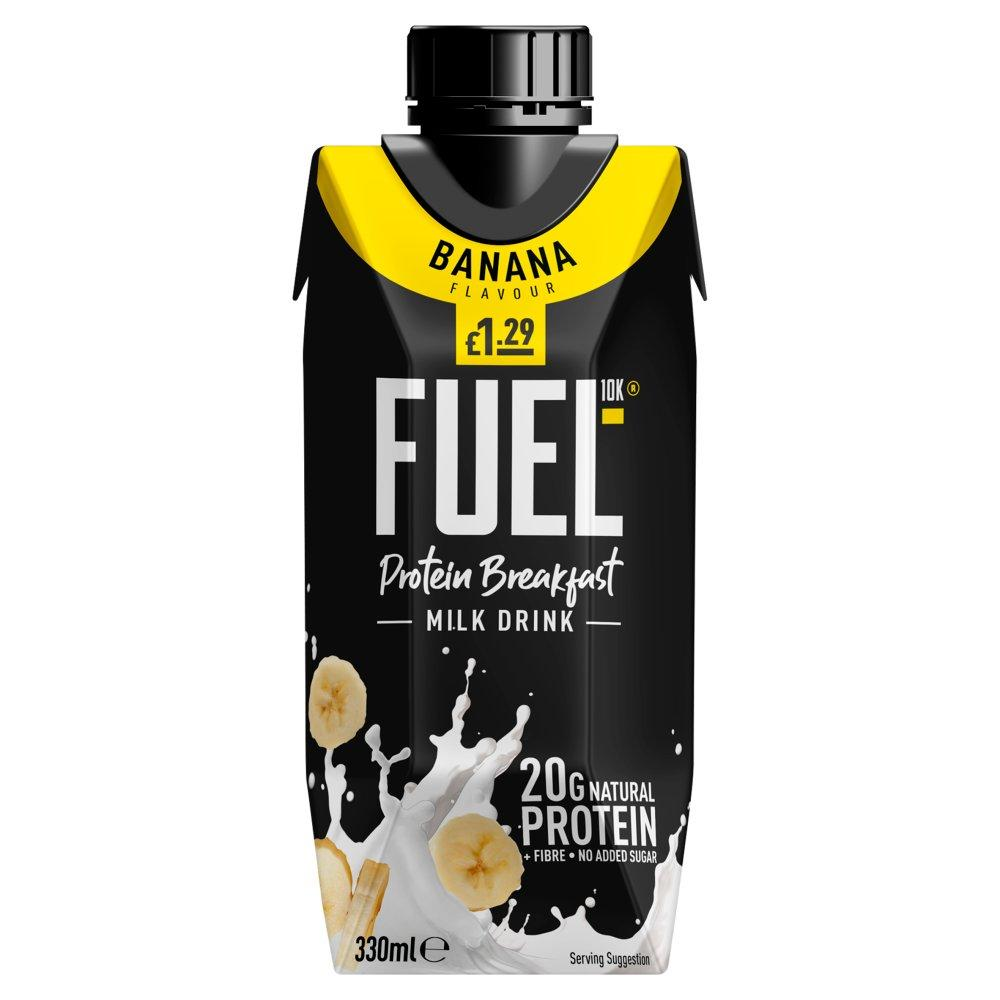 Fuel 10K Banana Breakfast Milk Drink 330ml