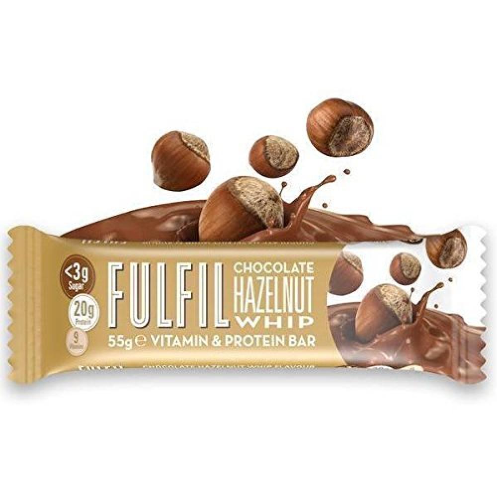 Fulfil Hazelnut Whip Vitamin and Protein Bar 55g