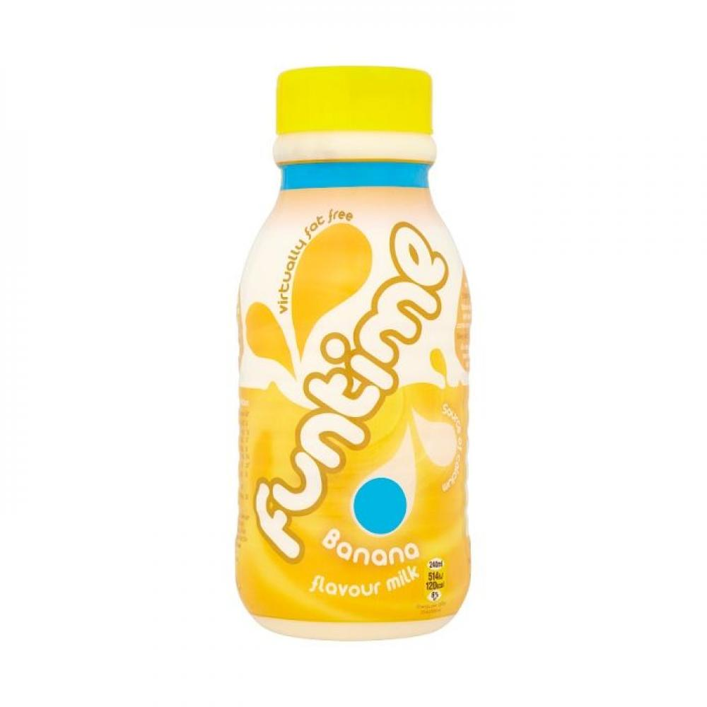 WEEKLY DEAL  Funtime Banana Flavour Milk 500ml