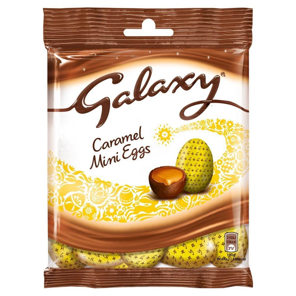 Galaxy Caramel Mini Eggs 80g