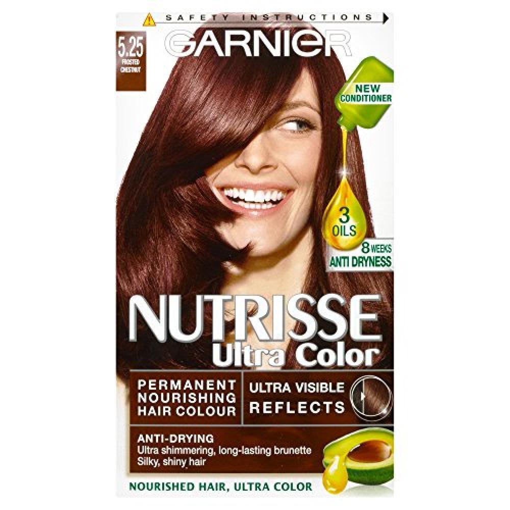 Garnier Nutrisse 5.25 Ultra Chestnut Brown Permanent Hair Dye