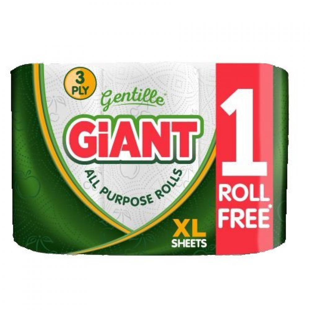 Gentille Giant All Purpose Rolls 3 pack