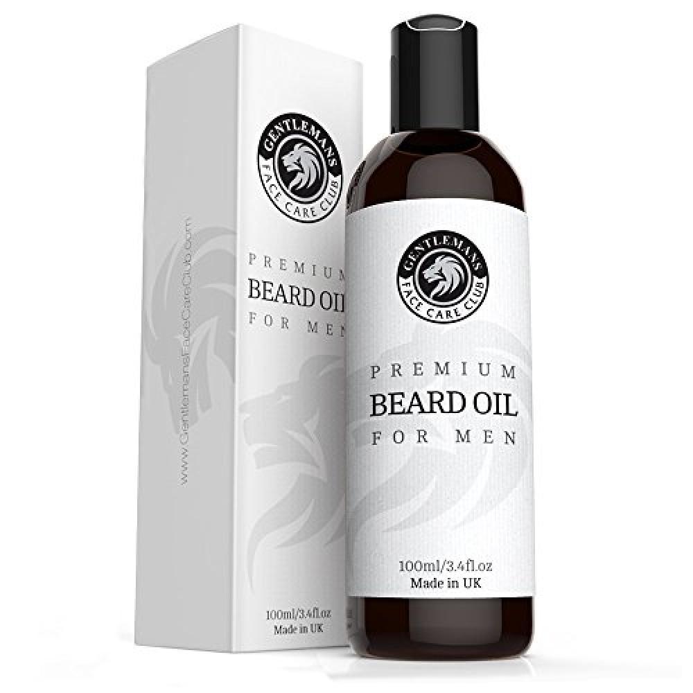 Gentlemans Face Care Club Beard Oil - Extra Large Bottle 100ml