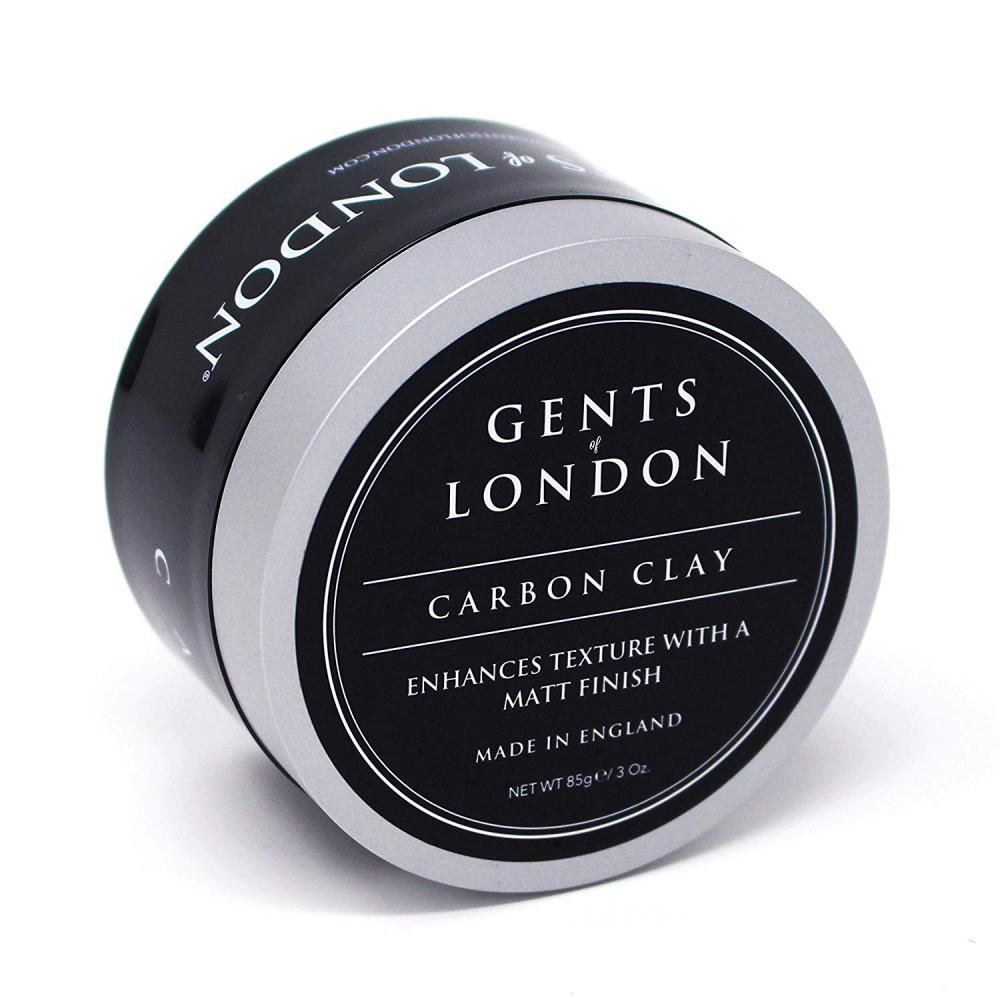 Gents of London Carbon Clay Matt Hair Styling Wax 85 g