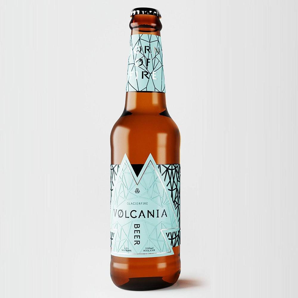 GlacierFire Volcania Beer 330ml