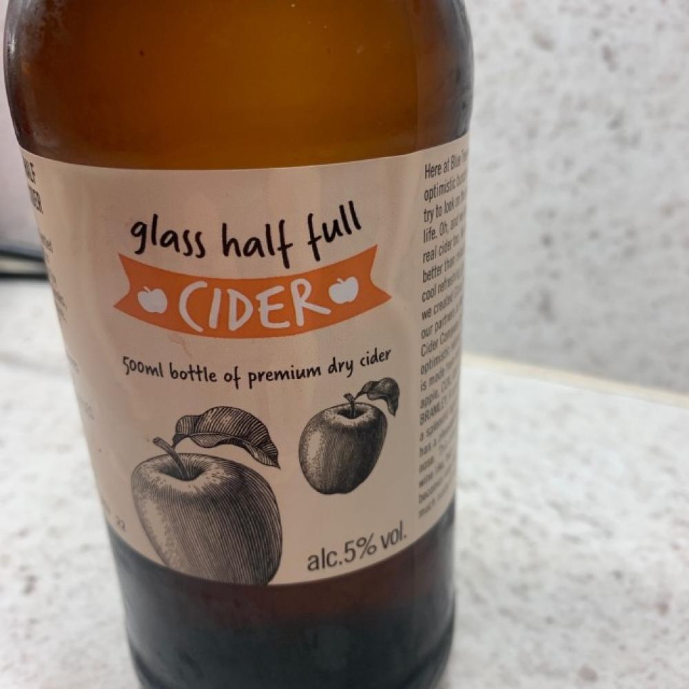 Glass Half Full Cider 500ml