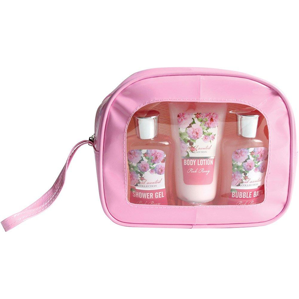 Gloss Bath Gift Set Floral Scented Peony