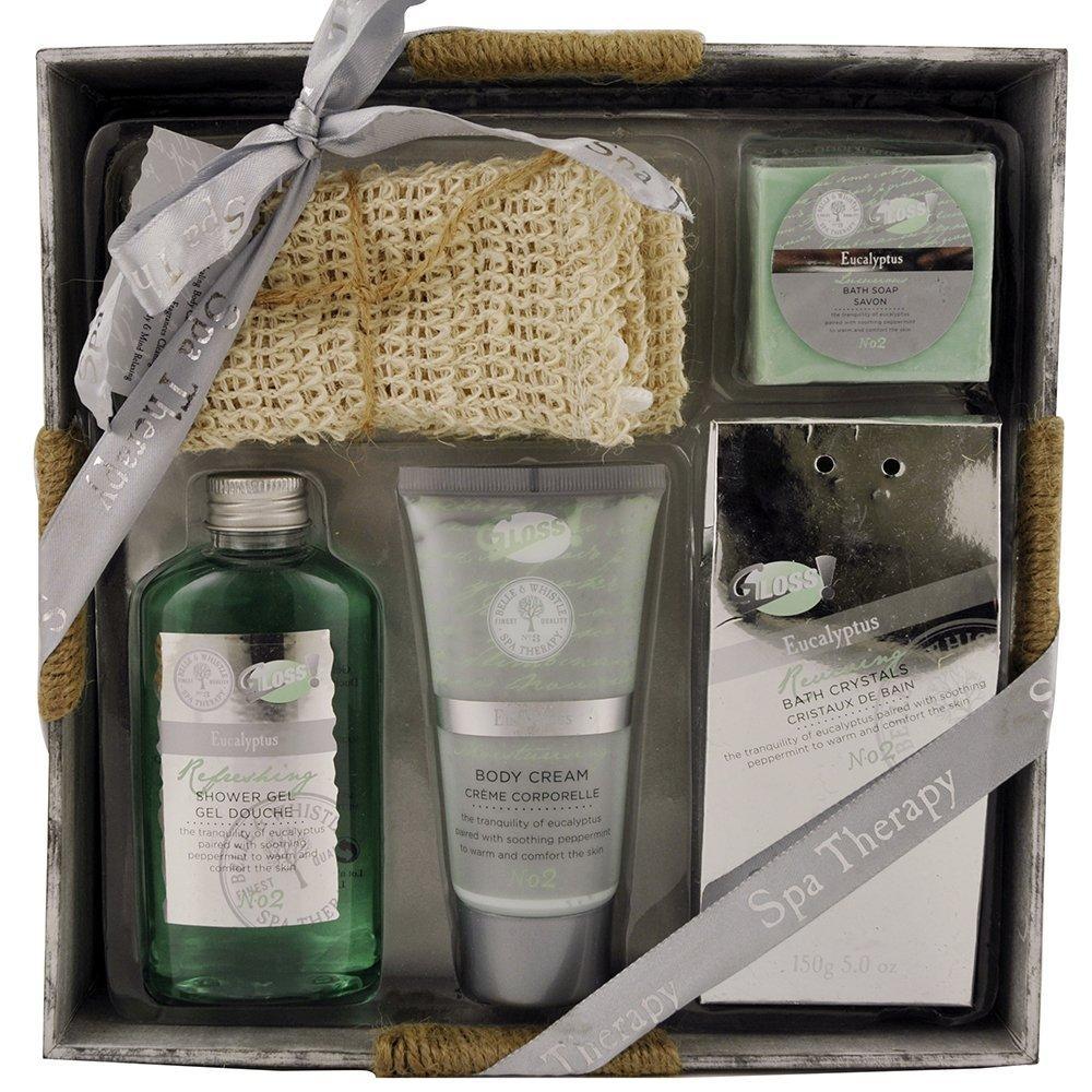 Gloss Bath Gift Set Spa Therapy Eucalyptus