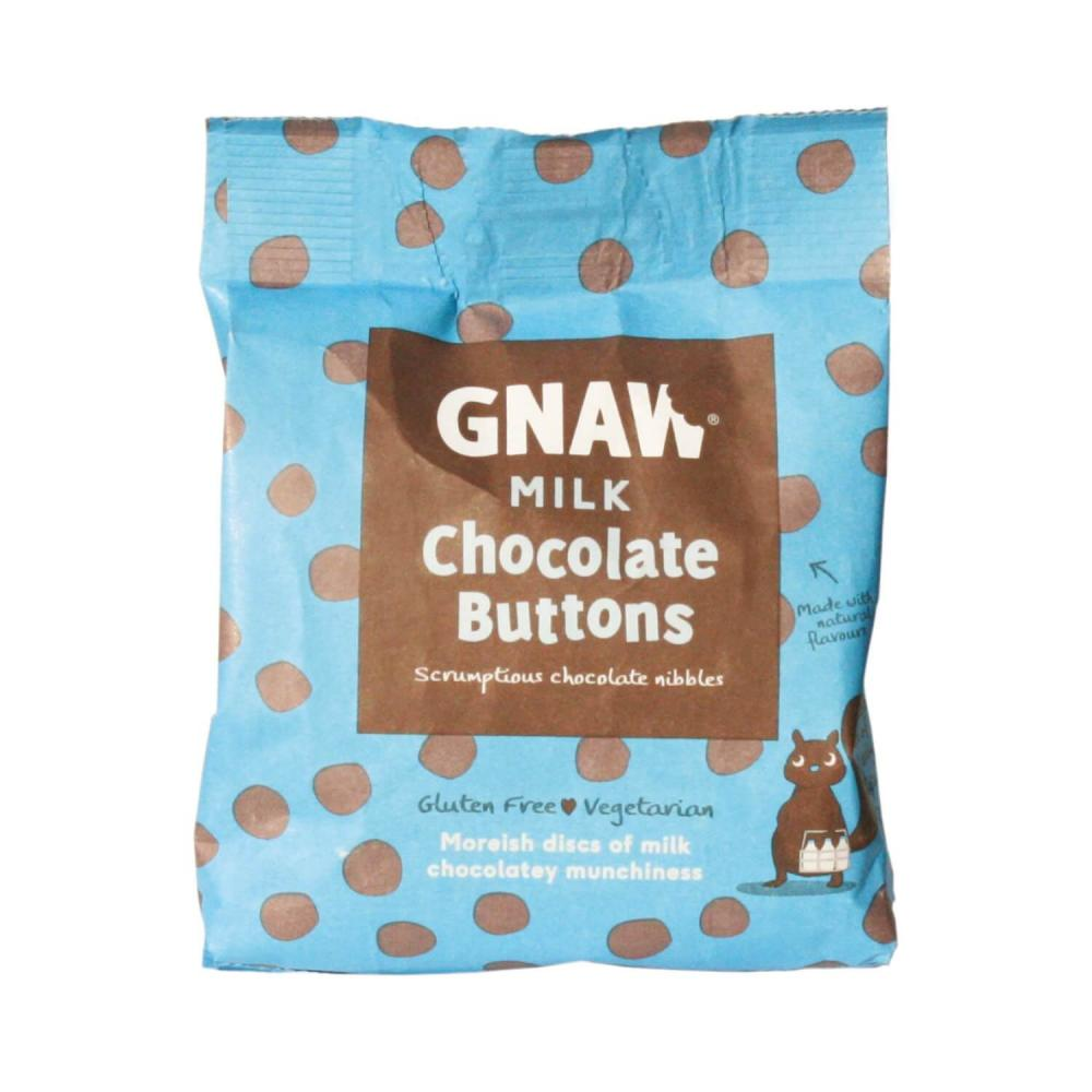 Gnaw Milk Chocolate Buttons 150 g