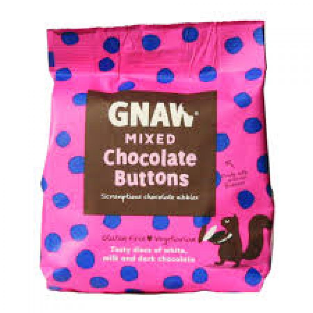 Gnaw Mixed Chocolate Buttons 150g