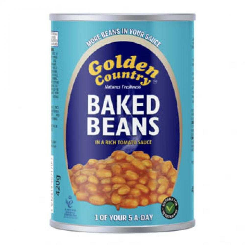 Golden Country Baked Beans In Tomato Sauce 420g