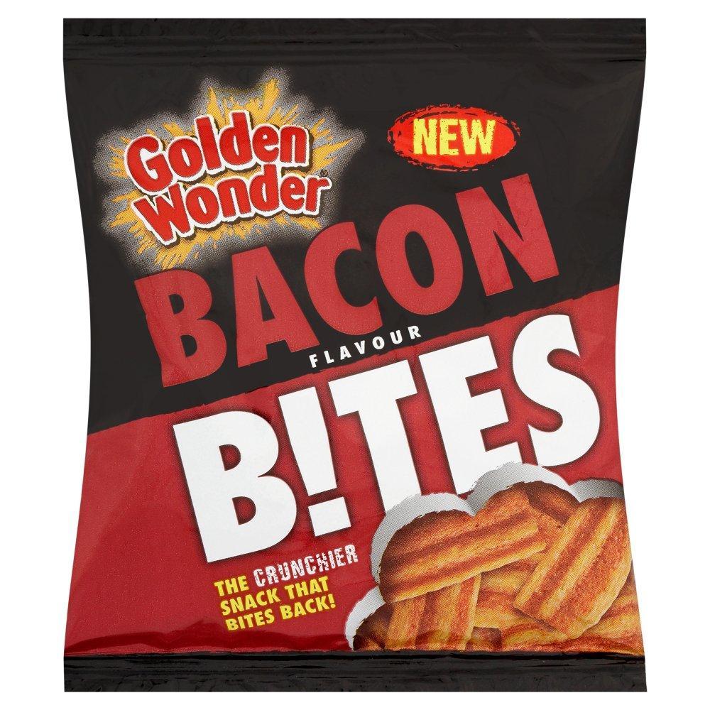 Golden Wonder Bacon Flavour Bites 25g