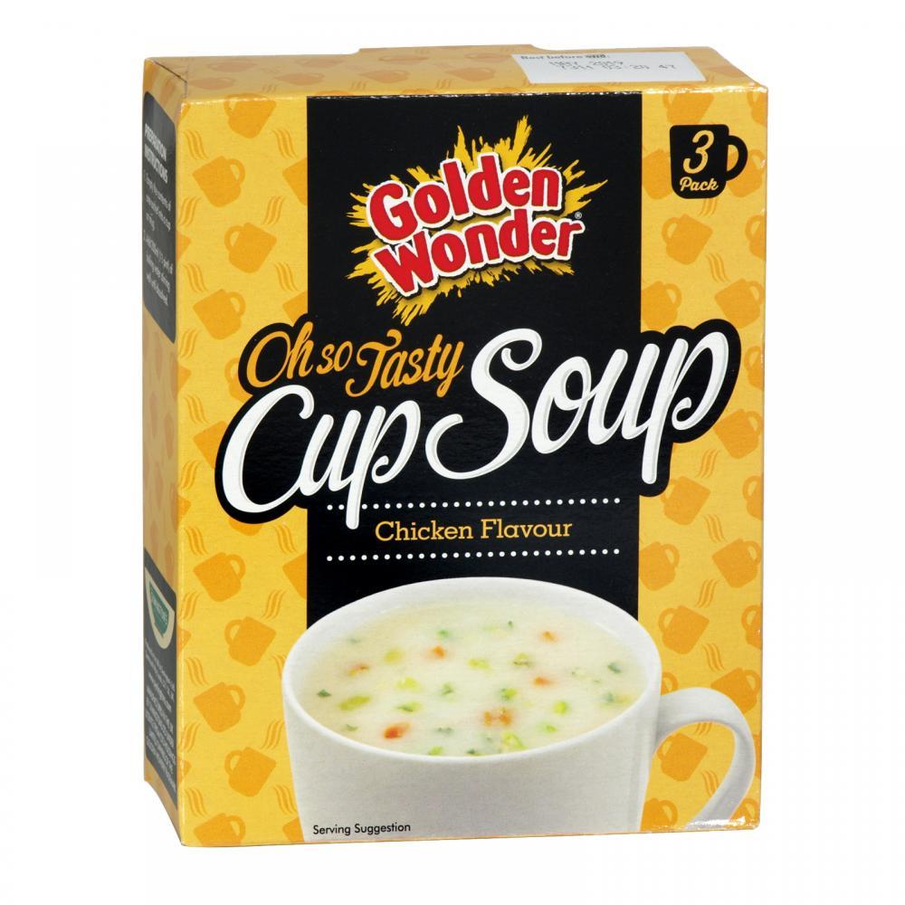 Golden Wonder Cup a Soup Chicken Flavour 3 x 22g