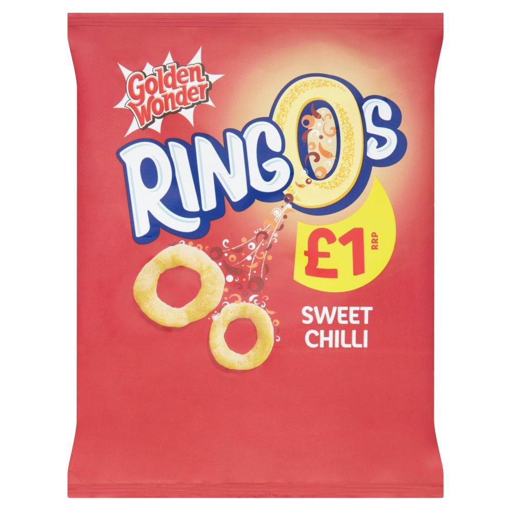 Golden Wonder Ringos Sweet Chilli 55g