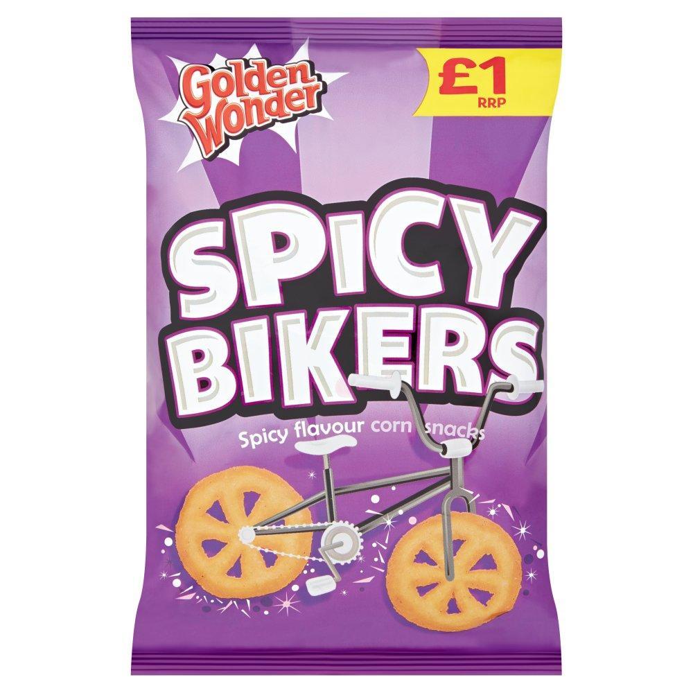 Golden Wonder Spicy Bikers 60g