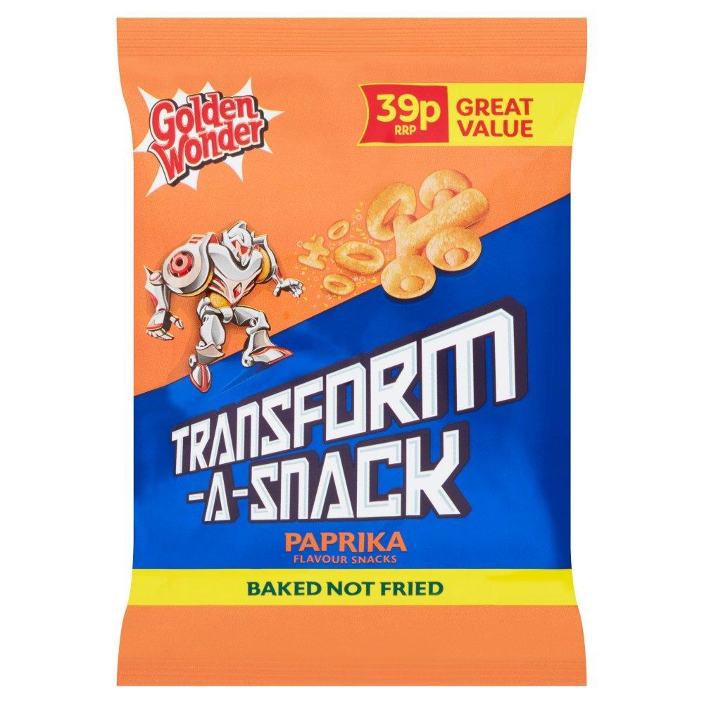 Golden Wonder Transform a Snack Paprika 30g