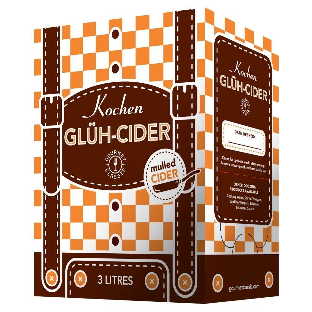 Gourmet Classic Mulled Cooking Cider 3L